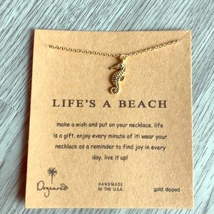 Life's a beach Dogeared necklace